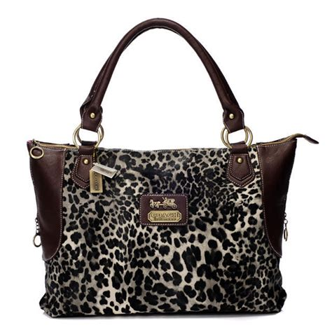 couch outlets coach leopard fur large coffee totes baj cc0972 64 99