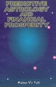 predictive astrology and financial prosperity by mahan vir