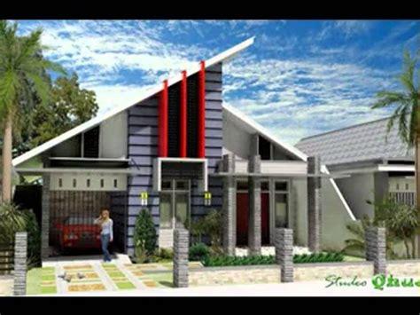 desain atap rumah minimalis modern renovasi rumahnet