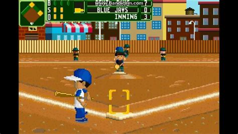 Backyard Baseball 2007 Gba by Gba Gamez Episode 37 Backyard Sports Baseball 2007