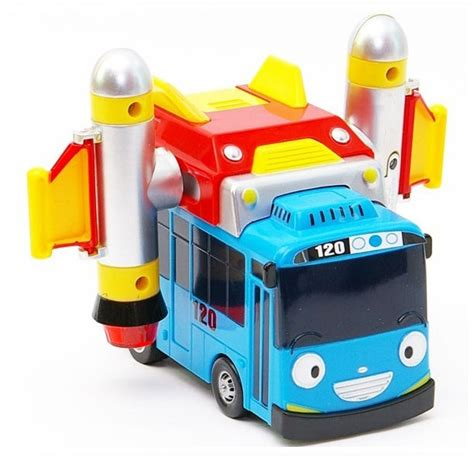 Tayo Merah Pull Back 1 tayo the space rocket pull back car with