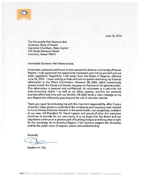 re resignation letter letter of resignation re ota