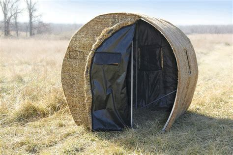 Bow Hunting Blind Plans Building A Diy Bale Blind Can Be As Easy As You Want It To Be