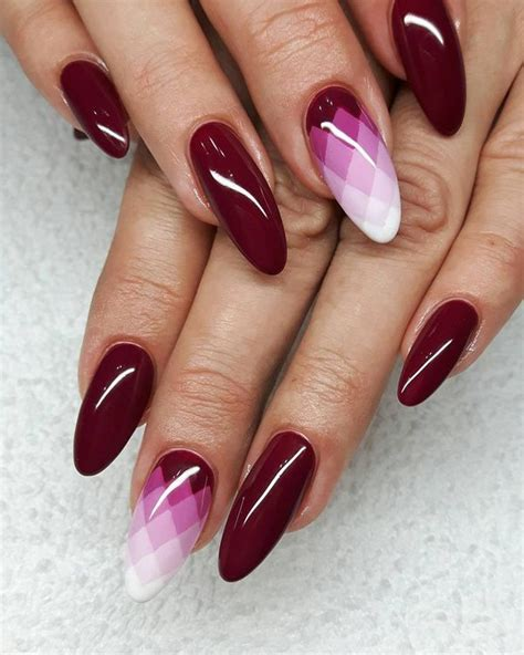 maroon color nails 50 burgundy nails designs ideas maroon acrylic nails