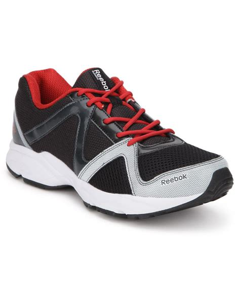 shoes sports reebok thunder run black sport shoes buy reebok thunder