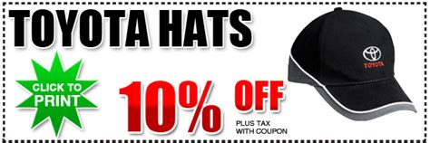 Toyota Discount Genuine Toyota Hats Gear Special San Diego County Parts