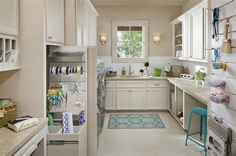 Kitchen Pantry Ideas For Small Spaces 25 Space Saving Multipurpose Laundry Rooms