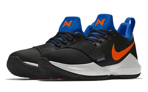okc thunder colors nikeid pg 1 okc thunder colors sneakerfiles