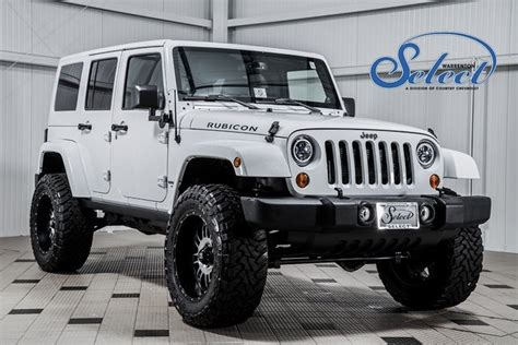 Jeep Wrangler Rubicon Lifted 2013 Used Jeep Wrangler Unlimited Rubicon Lifted At
