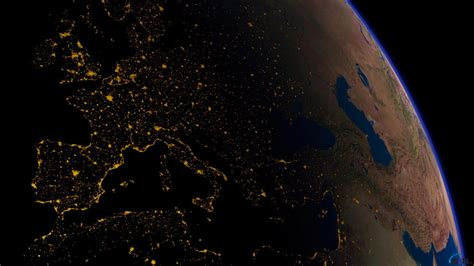wallpaper earth at night download wallpaper night view of earth from space 1366 x