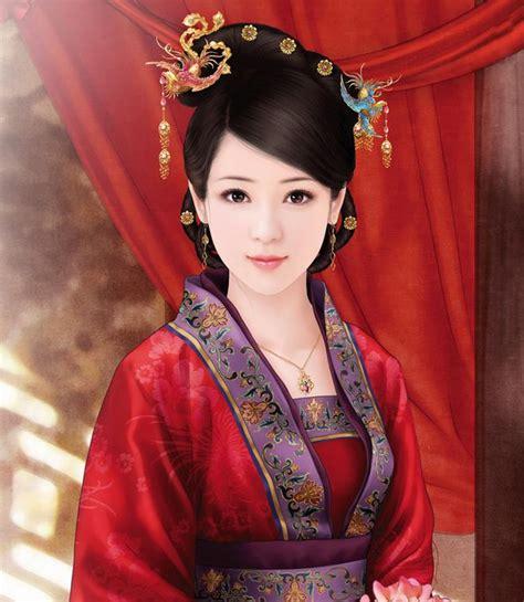 traditional hairstyles games 古装漫画图片美女大全