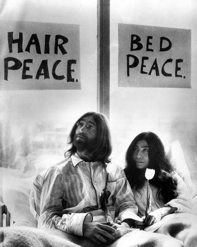 john lennon bed in jblanks john lennon and yoko ono at a bed in for peace