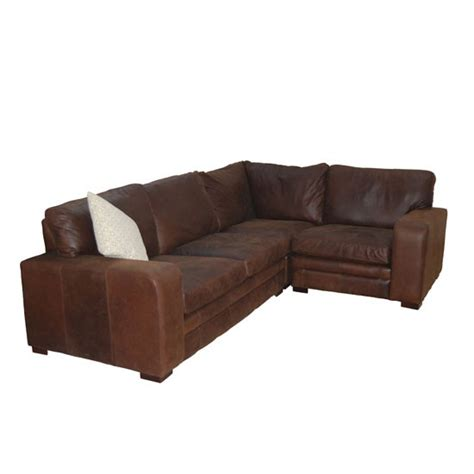 sloane leather corner sofa from darlings of chelsea