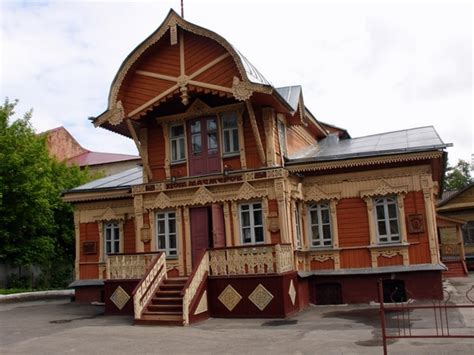 russian home the house of masters of kaluga city 183 russia travel blog