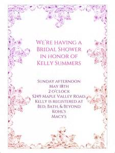 Free Printable Bridal Shower Templates by 22 Free Bridal Shower Printable Invitations
