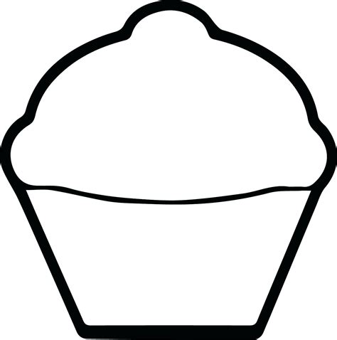 Printable Muffin Template