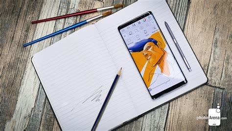 Note 9 Drawing App by Samsung Galaxy Note 9 S S Pen Will Be Awesome A Look At