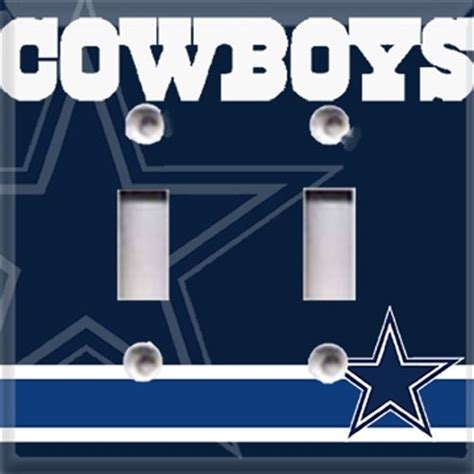 Dallas Cowboys Room Decor Dallas Cowboys Football Light Switch Plate Cover Room Decor Cave Ebay