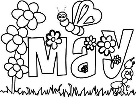 May Coloring Pages may day coloring pages www imgkid the image kid