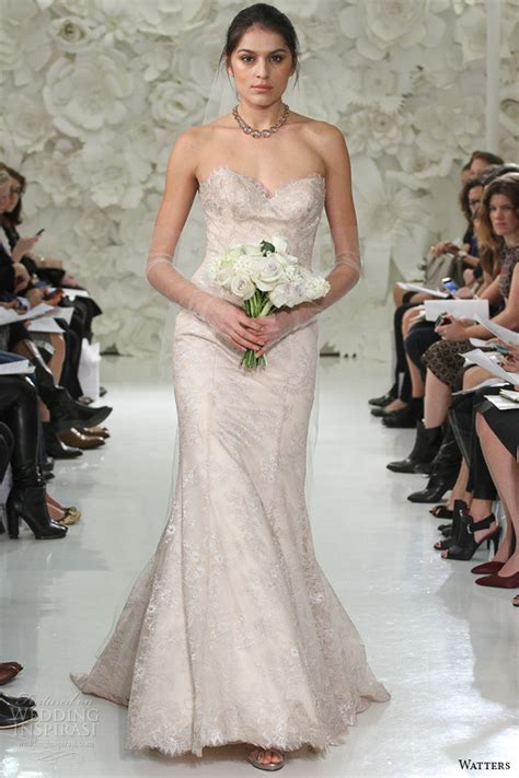 watters 2015 wedding dresses pearl