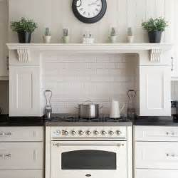 Kitchen Mantel Decorating Ideas by Vignette Design Stainless Steel Vs White Appliances