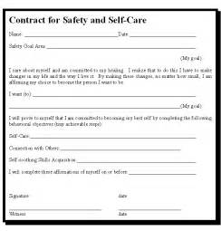 safety plan for suicidal clients template positive prognosis and contract with client to address