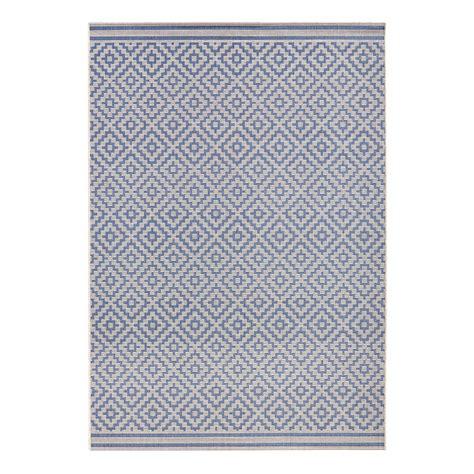billiger teppich 37 in outdoor teppich raute kunstfaser grauwei 223 200 x