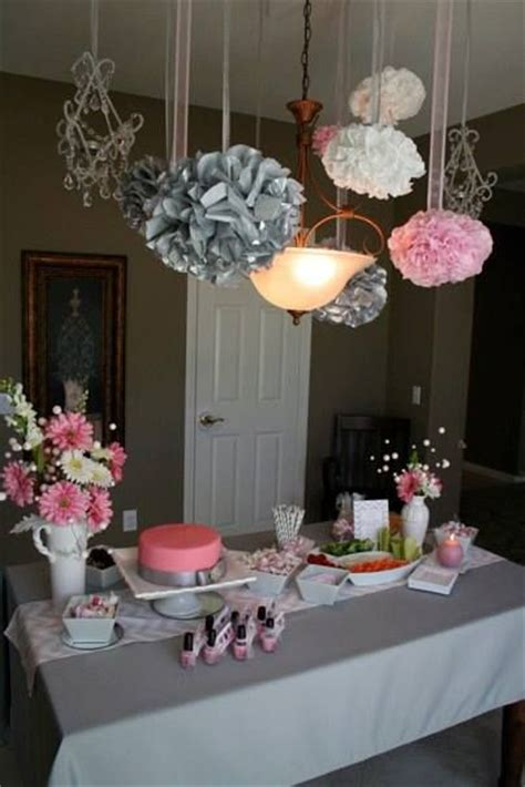 pink and gray chevron baby shower decor baby showers