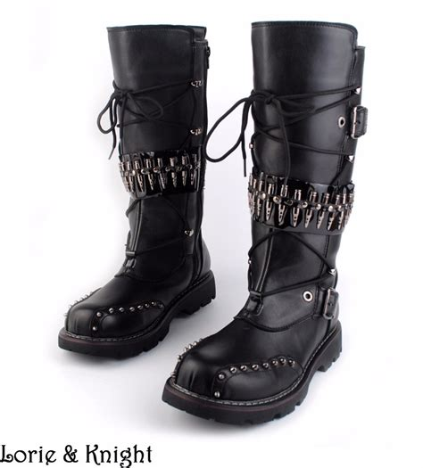 where can i buy motorcycle boots wholesale mens black leather motorcycle boots heavy metal