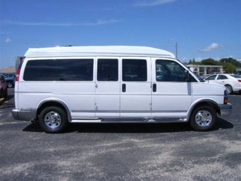 sell used 2012 chevy express g3500 rocky ridge hightop 9