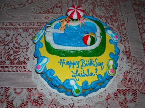 Pool Cake Decorations by Pool Decorations For Wedding