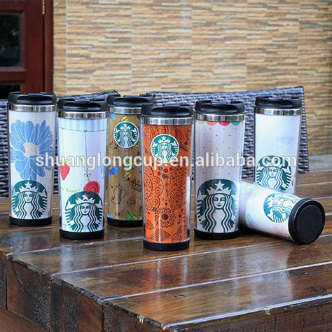 Tumbler Insert Paper Personalized personalized paper insert acrylic stainless steel insualted starbucks tumbler with twist on