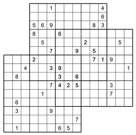 printable double sudoku multi sudoku the trio n 02