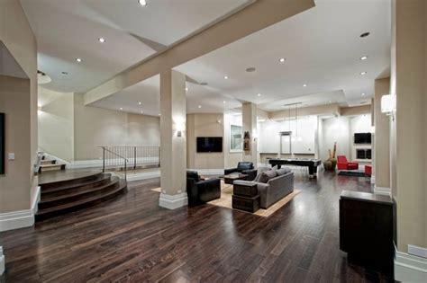 modern basement design contemporary basement