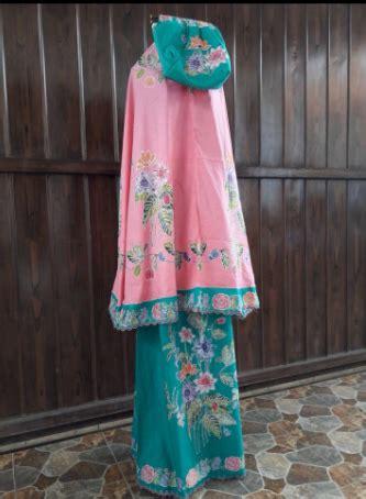Mukena Kombinasi Batik batik pekalongan by jesko batik kain batik pekalongan