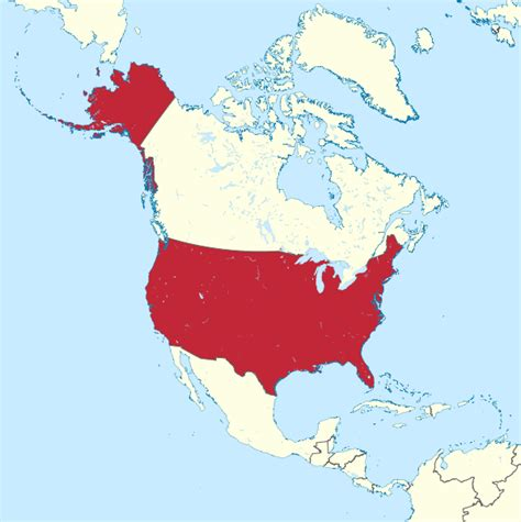 picture of map of united states of america the united states of america