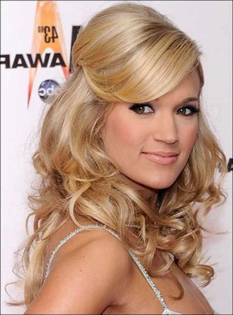 Wedding Hairstyles Up Side by 30 Best Half Up Curly Hairstyles Hairstyles Haircuts