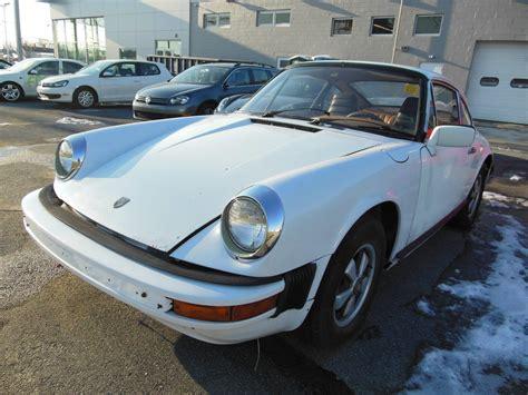 Porsche Grand Prix by 1976 Porsche 912e Grand Prix White Project Car Barn Find