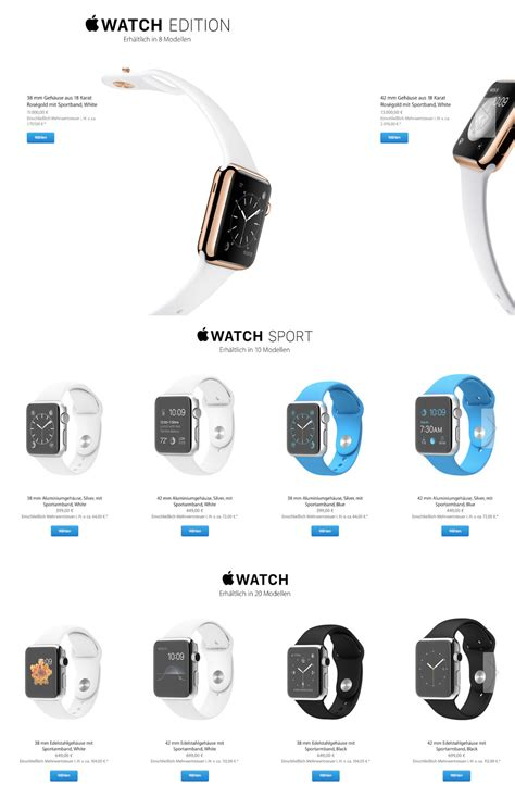 apple kost apple watch prijzen bekend dit kost de smartwatch in euro s