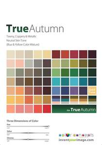 true autumn color palette colors for a true autumn www inventyourimage