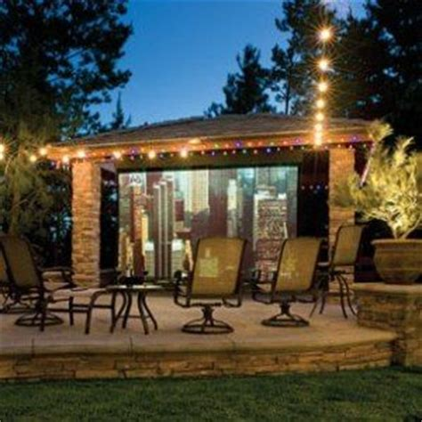 13 best images about backyard theaters on