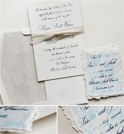 painted watercolor wedding invitations f painted artistic black tie wedding