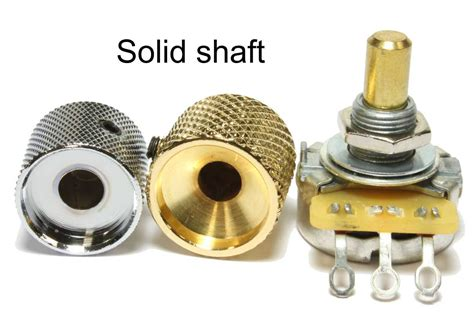 Solid Shaft Knobs by Choosing The Correct Knob For Your Guitar Or Bass