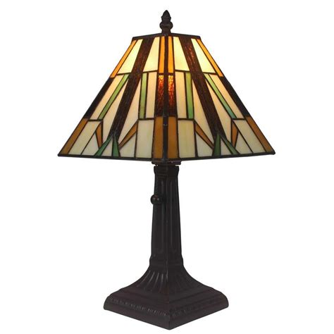 Amora Lighting 15 5 In Tiffany Style Mission L
