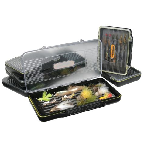 small 3 compartment small 3 compartment crystal fly box