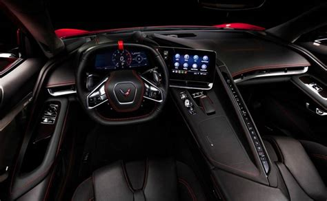 corvette  dashboard