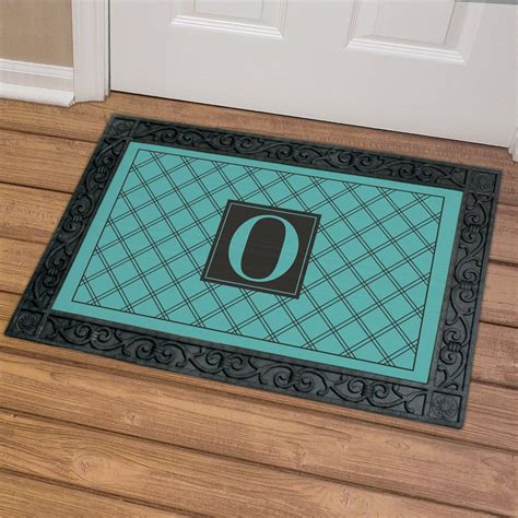 Doormats With Initials by Personalized Monogrammed Doormat Giftsforyounow