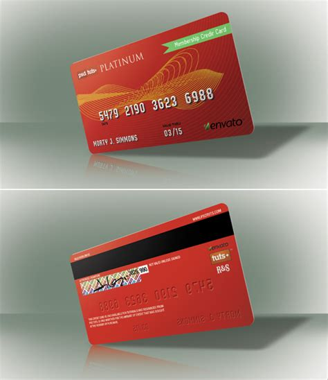 make a visa card tip create a realistic credit card in photoshop