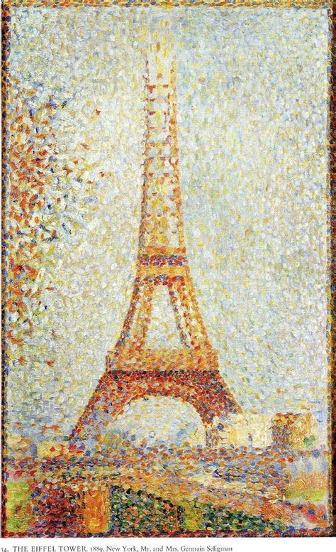 georges seurat most famous paintings art pinterest the eiffel tower georges seurat paintings i love