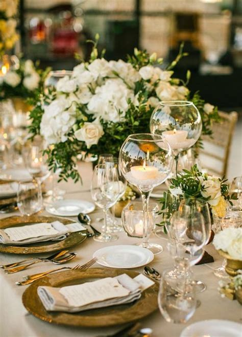 Klasyczne dekoracje weselne   Wedding.pl